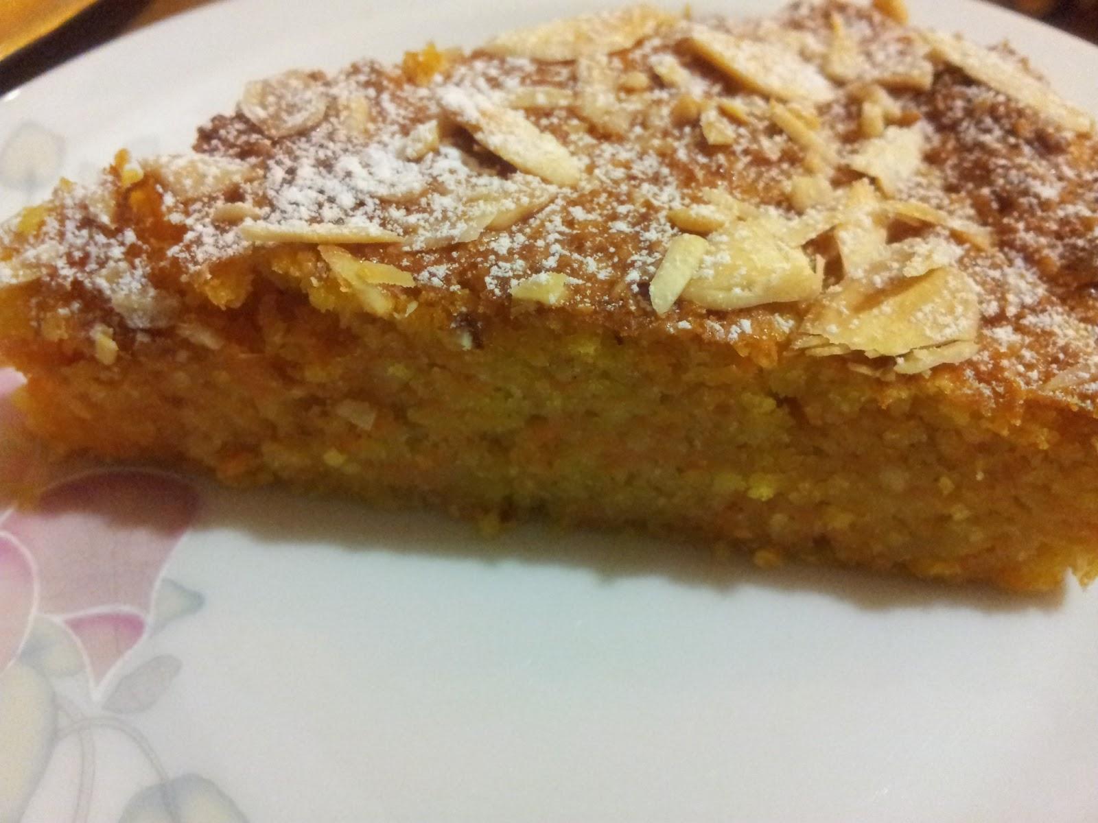 Torte Da Credenza Ricette : La cucina di viola: torta carote e mandorle