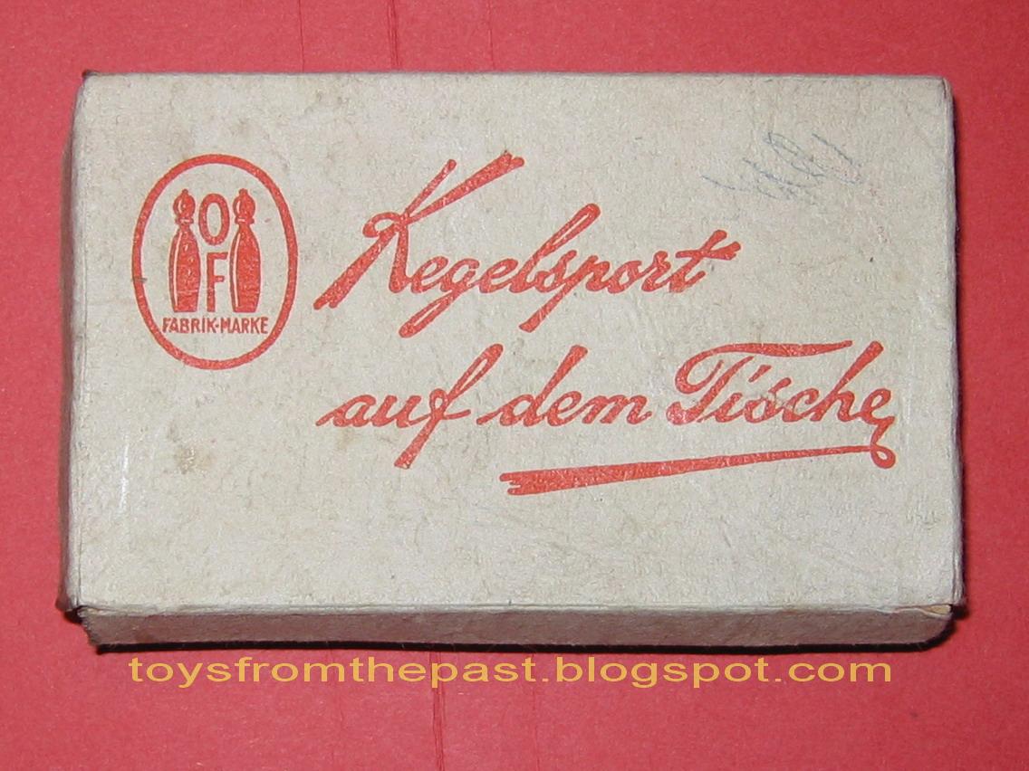 Toys from the past 317 of fabrikmarke kegelsport auf for Tische deutschland