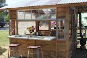 Rustic Romantic Shed
