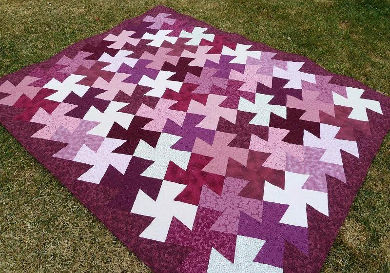 Quilt Kisses: A Lovely Twist : twister quilt patterns - Adamdwight.com