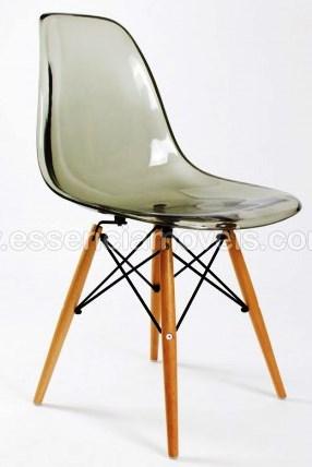 cadeira eames transparente