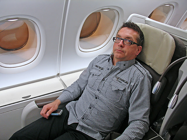 Siège de la Classe Affaires avec Air France