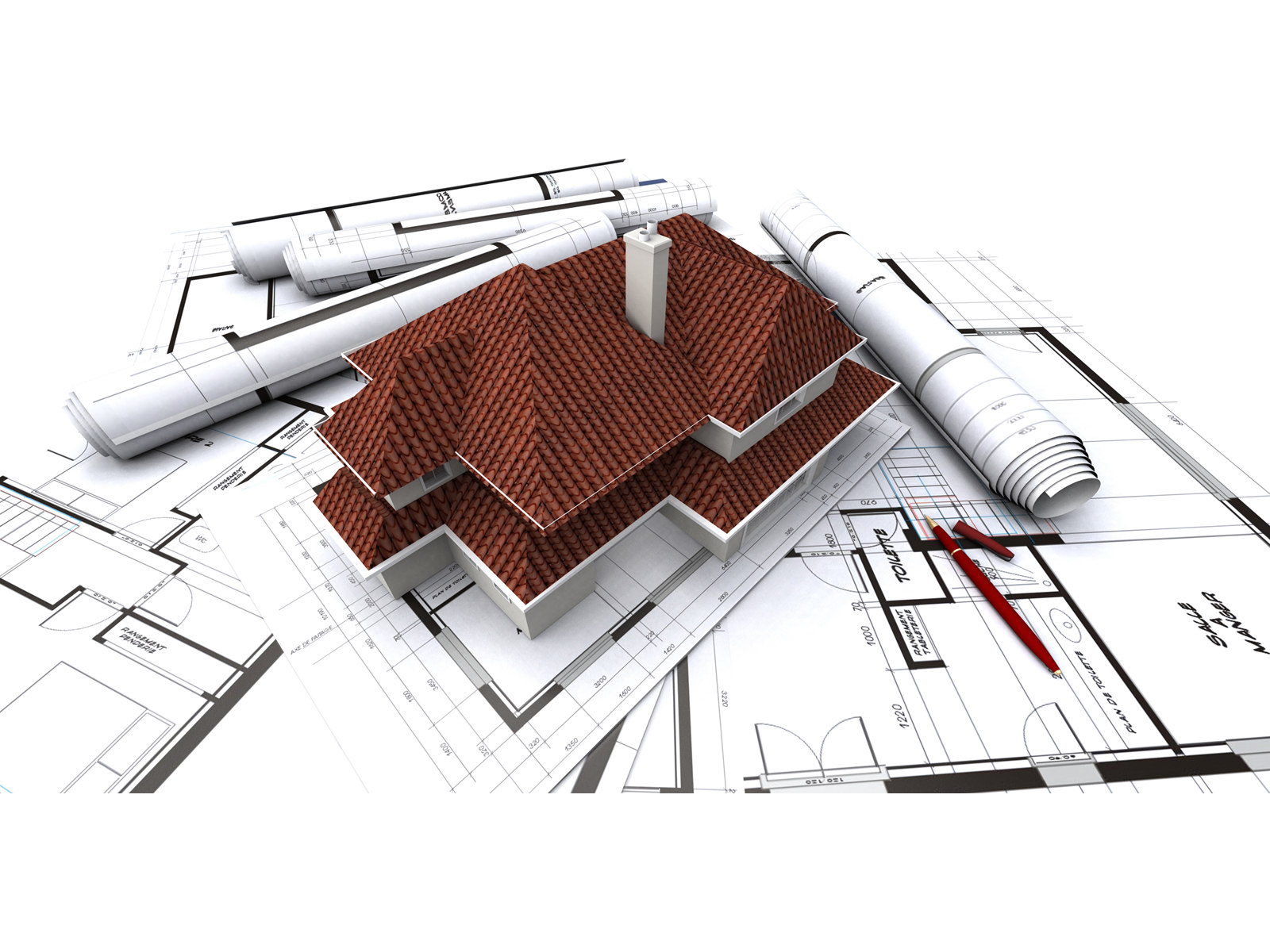 Build a building 3d building construction for House construction plans