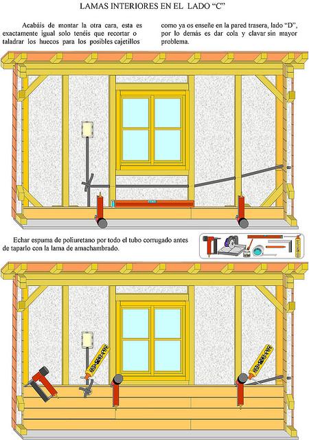 Como se hace tutoriales como hacer una casa de madera for Construir una pileta de material
