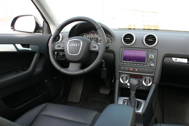 2011 Audi A3 TDi Interior Front Rear