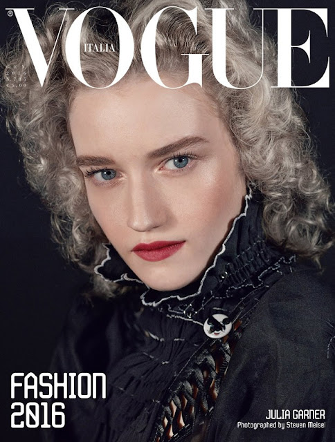 Actress, @ Julia Garner by Steven Meisel for Vogue Italia, January 2016