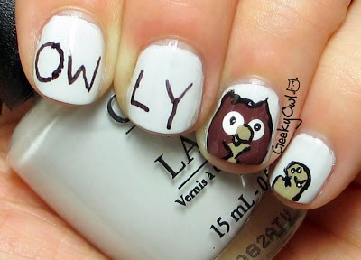 http://geekyowl.blogspot.com/2013/06/the-Easy-Nail-Art-does-book-week-owly.html