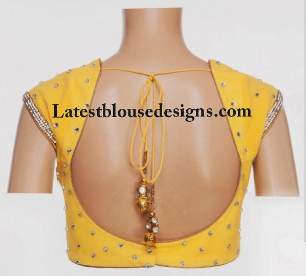 pot neck blouse