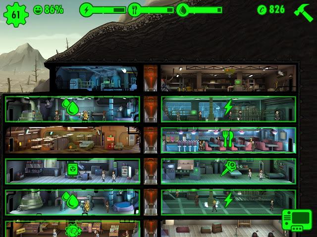 Fallout Shelter Ressourcen