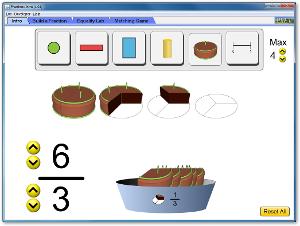 http://phet.colorado.edu/el/simulation/fractions-intro
