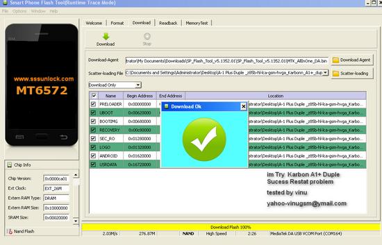 Как прошить телефоны через SP Flash Tool (на примере DNS S4505M). Какие мо