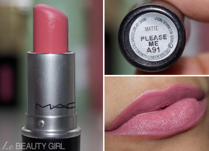 My MAC Lipstick collection (Please Me)