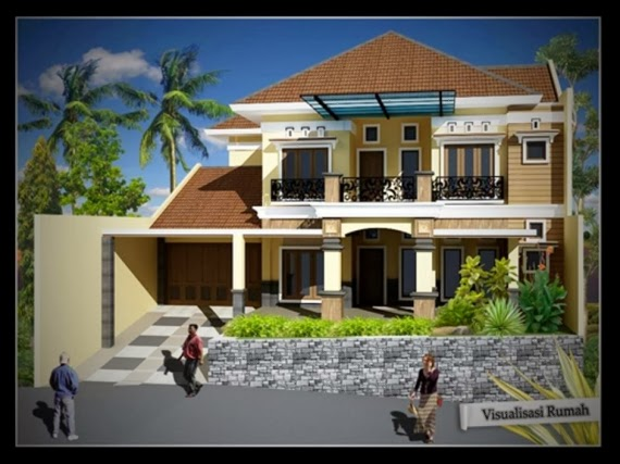 Desain Rumah Mewah 2013