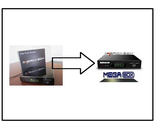 Transformar Americabox AM 3606 en Megabox 3000 HD 80 Julio 2015