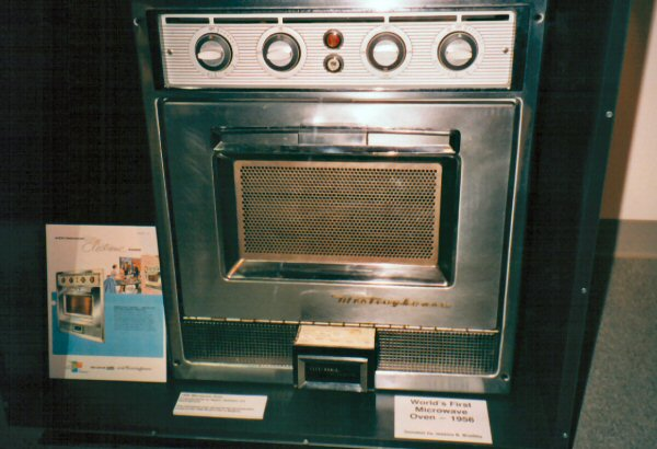 Microwave Oven 1946 ~ The supreme plate national microwave day