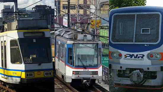 Christmas schedules 2015 for MRT, LRT, & PNR