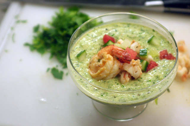Cucumber Gazpacho | hardparade.blogspot.com