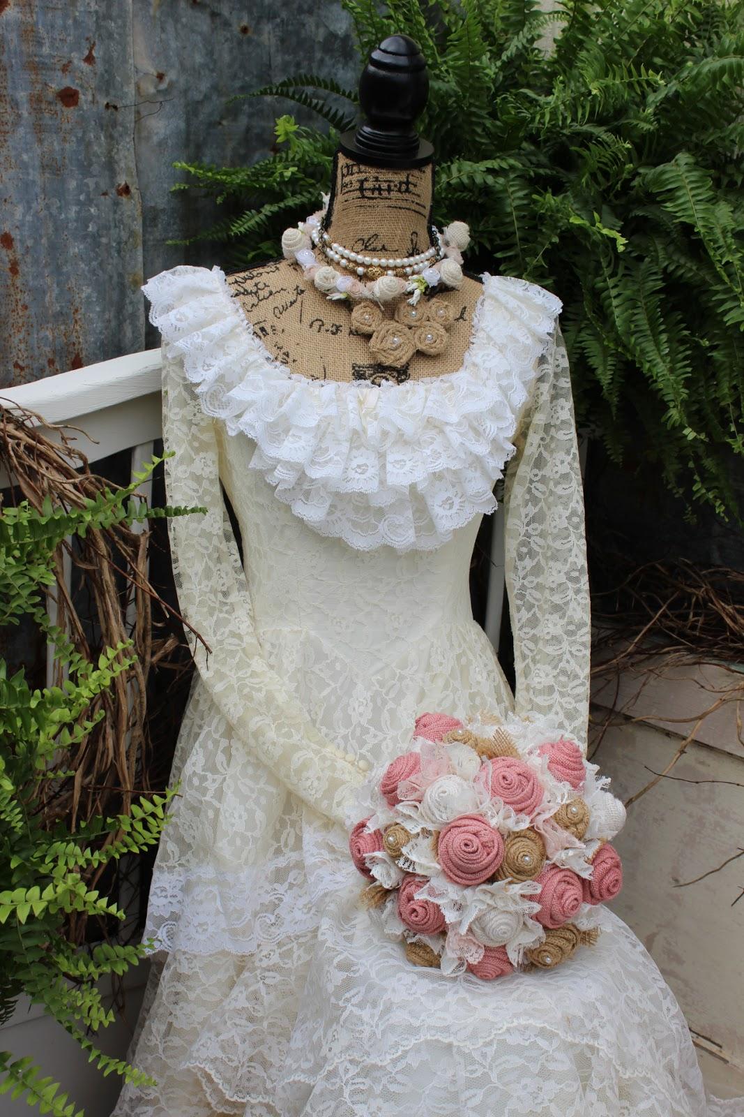 Gypsyfarmgirl blush pink burlap wedding bouquets and new items blush pink burlap wedding bouquets and new items ombrellifo Gallery