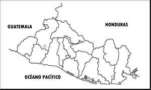 EL SALVADOR America  MAPAS DE