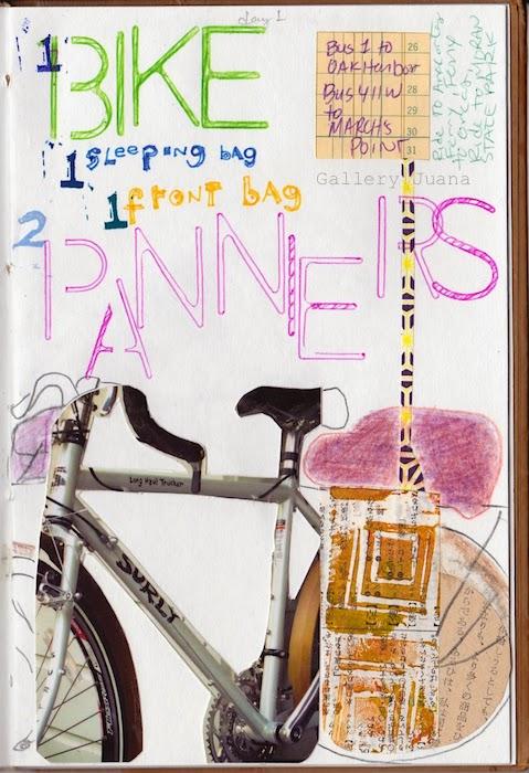 bicycle touring journal