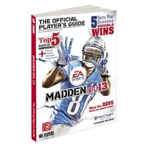 Madden NFL 13 Guide Book Release Date