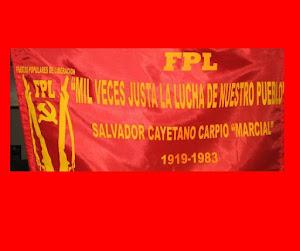 "Fuerzas Populares de Liberacion ""Farabundo Marti"" FPL FM GPP-GPL ROM PAV 1970-2012"