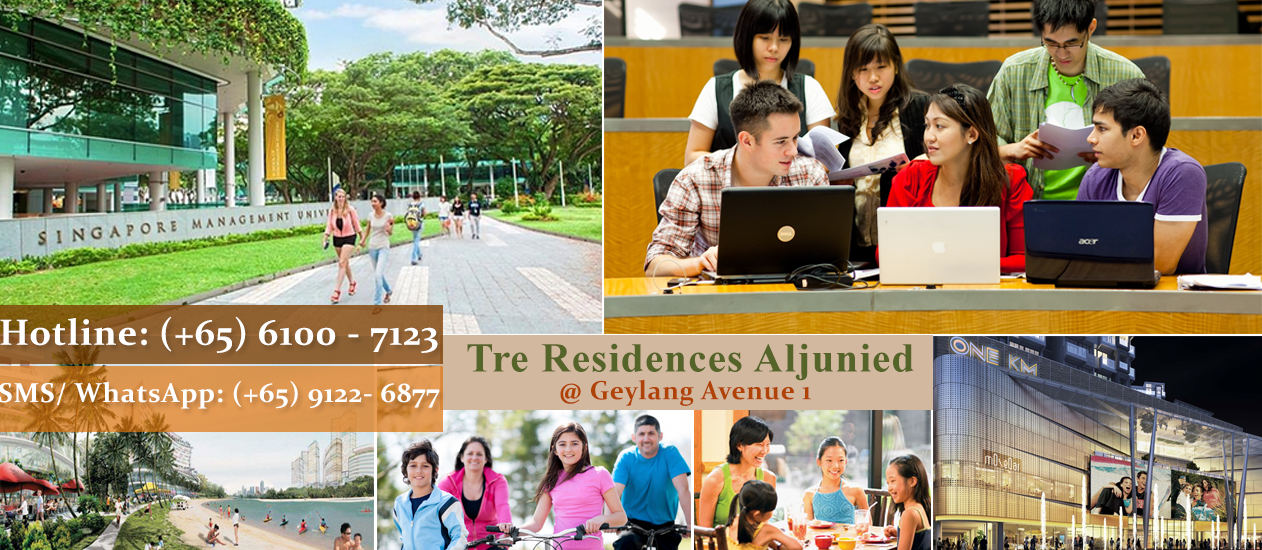 Tre Residences Aljunied | Geylang East Avenue 1 | Next To Aljunied MRT