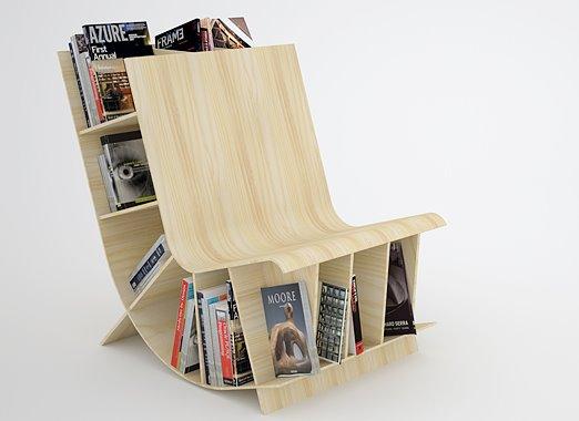 cadeiras de leitura