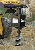 Skid Steer Auger Attachment1
