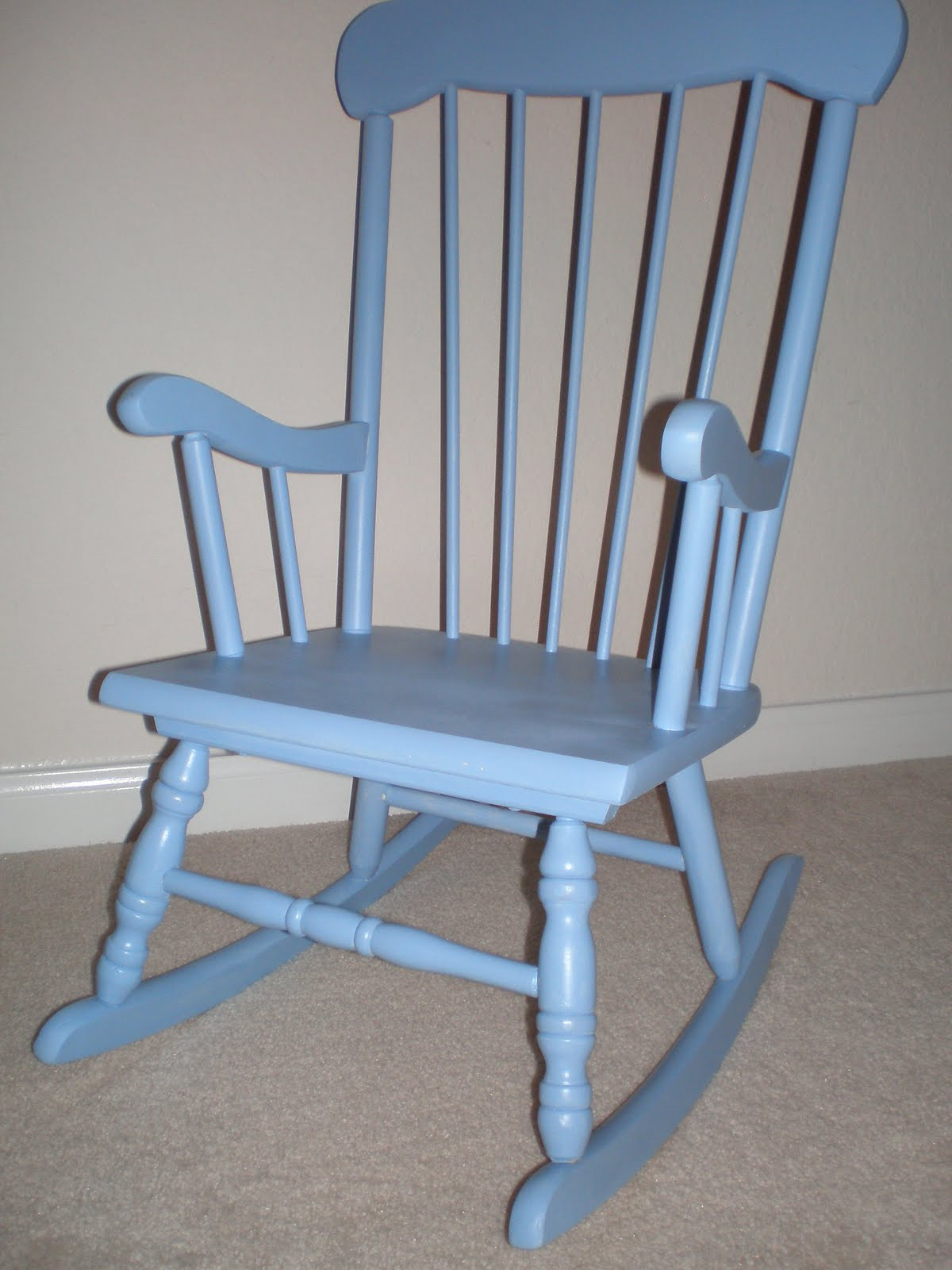 Brown Turquoise: DIY: Baby Rocking Chair.