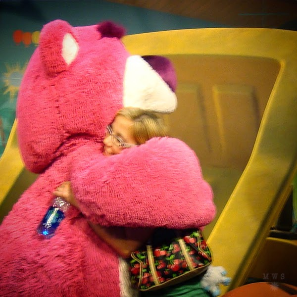 Lots-o-huggin' Bear hug