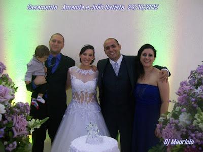 Casamento Amanda e João Batista