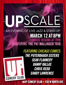 Jazz & Comedy @ The Up Club!