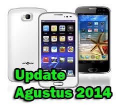 Daftar Harga HP Advan Vandroid Terbaru Bulan Agustus 2014 Terpercaya