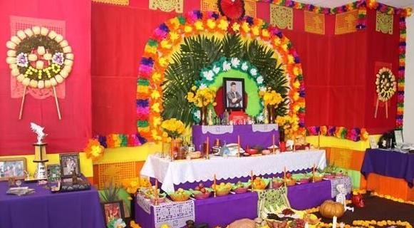 Resultado de imagen para Mictlán (mundo de los difuntos) arcos altares