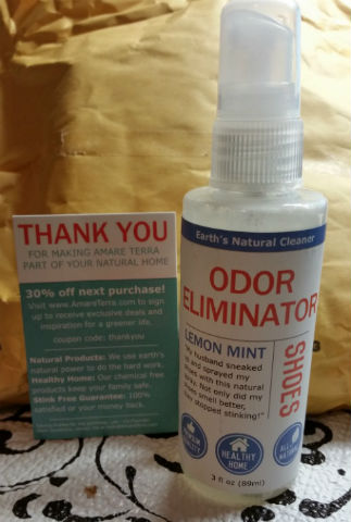 amare terra odor eleminator spray