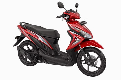 Honda New Vario FI 110 Glam Red