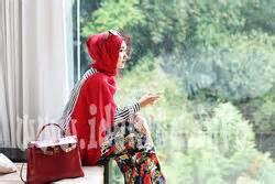 Desain Baju Muslim Dian Pelangi Terbaru