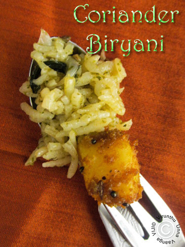 Coriander-rice