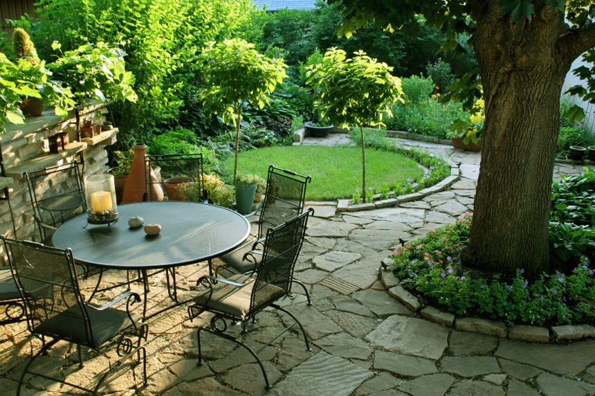 Outdoor Patio Decorating Ideas Brilliant Of Small Backyard Patio Landscaping Ideas Images