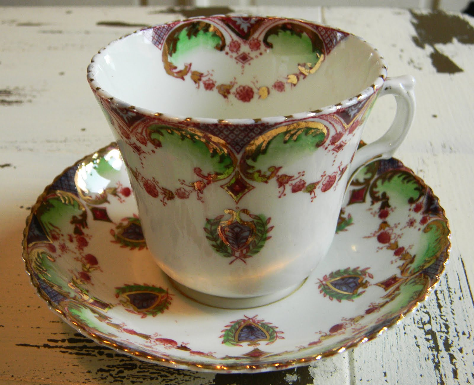 tea time is new for me vintage tea cups british tea or coffee and biscuits. Black Bedroom Furniture Sets. Home Design Ideas