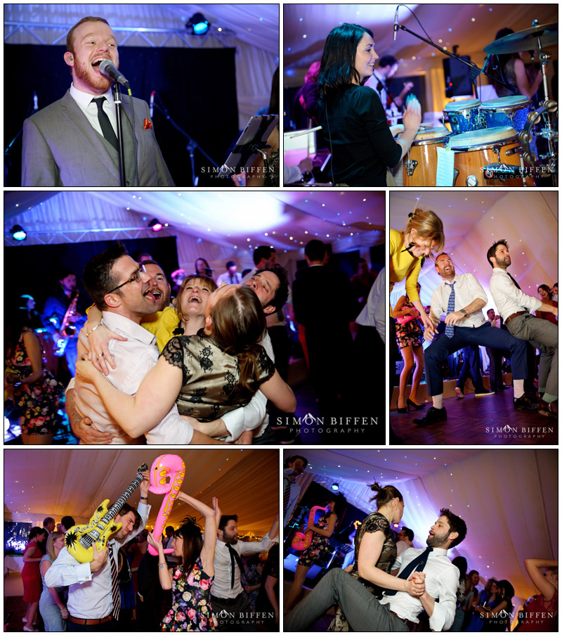 Under The Covers Band wedding Combe House