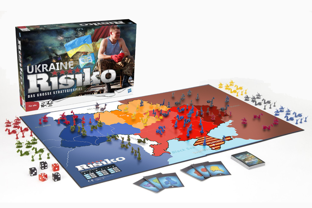 Classic board game risk now available as Ukraine Edition