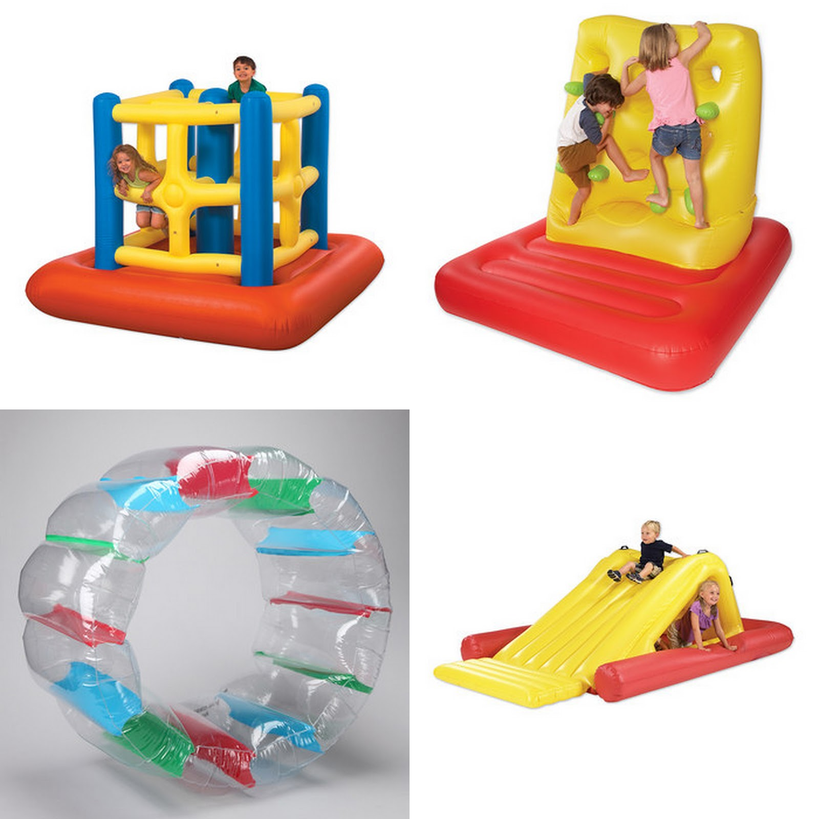 Good deal on inflatable bouncy toys Fun Cheap or Free