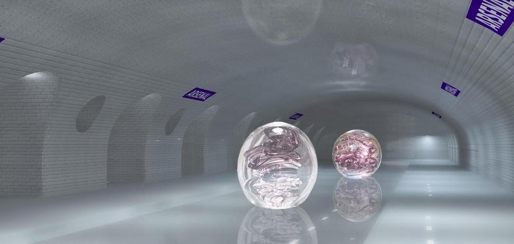 04-Art-Gallery-Nathalie-Kosciusko-Morizet-Manal-Rachdi-Nicolas Laisné-NKM-Paris-Ghost-Metro-www-designstack-co