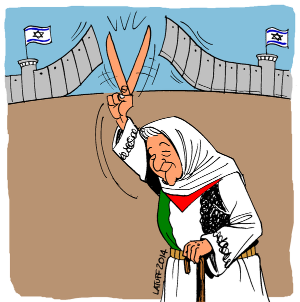 2014 : the year of solidarity  with occupied Palestine
