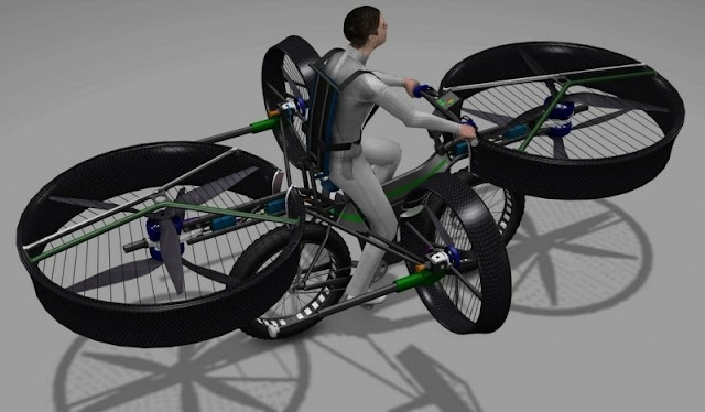 Move Over, Hoverboards: This Bike Lets You Fly