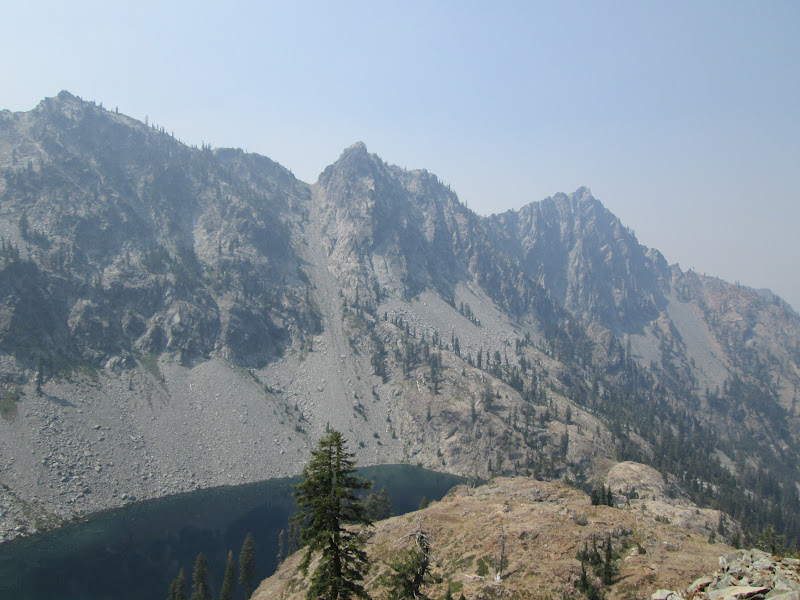 Heavy Hiking: Pacific Crest Trail: Fires
