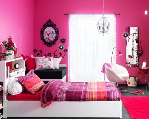 Dormitorios y decoracion habitaciones dormitorios for Dormitorio rosa