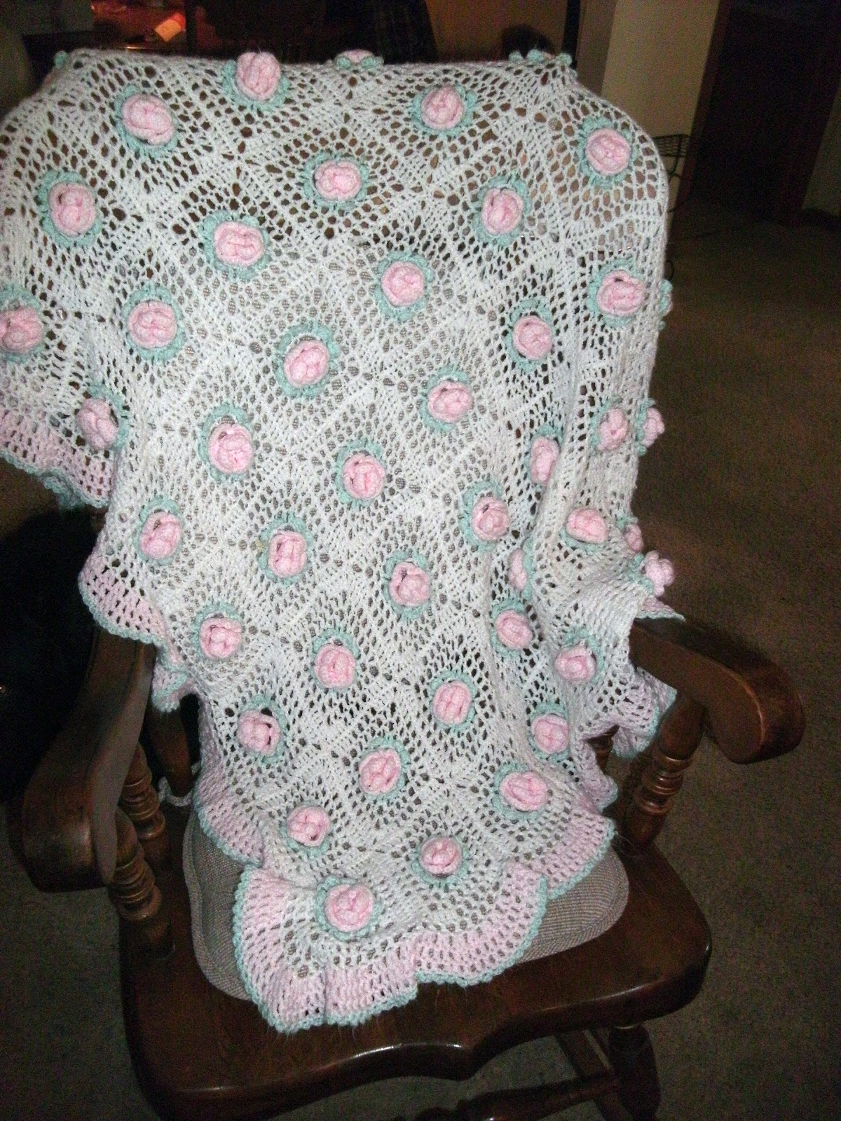 Crocheting A Baby Blanket : The Scrappers Boutique: crocheted baby blanket